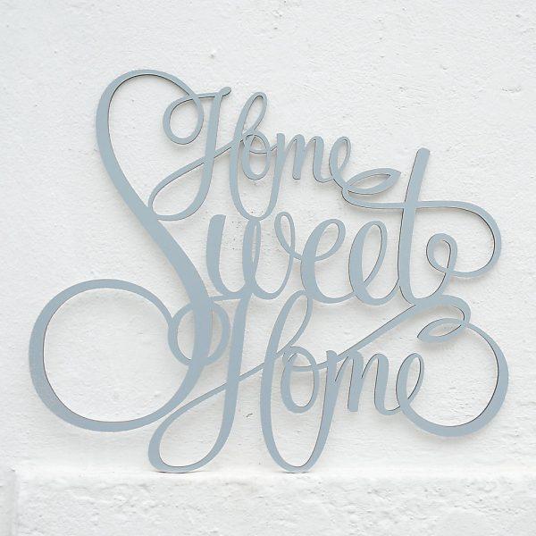 Home sweet home 3D Buchstaben