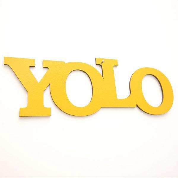 YOLO gelb