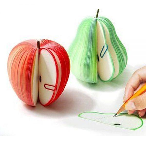 Apfelnotiz Birnennotiz