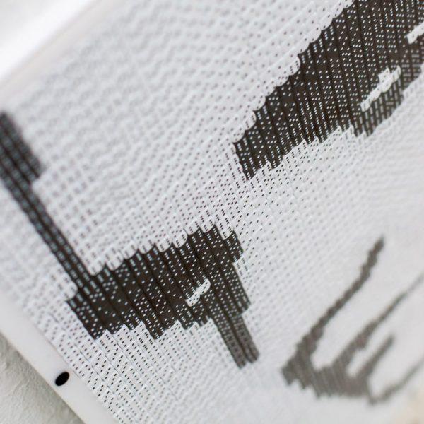 Würfelmosaik Detail