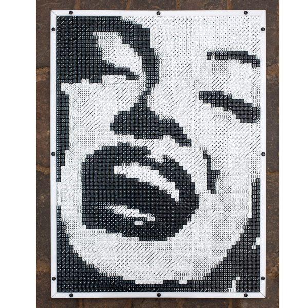 Würfelmosaik Marilyn