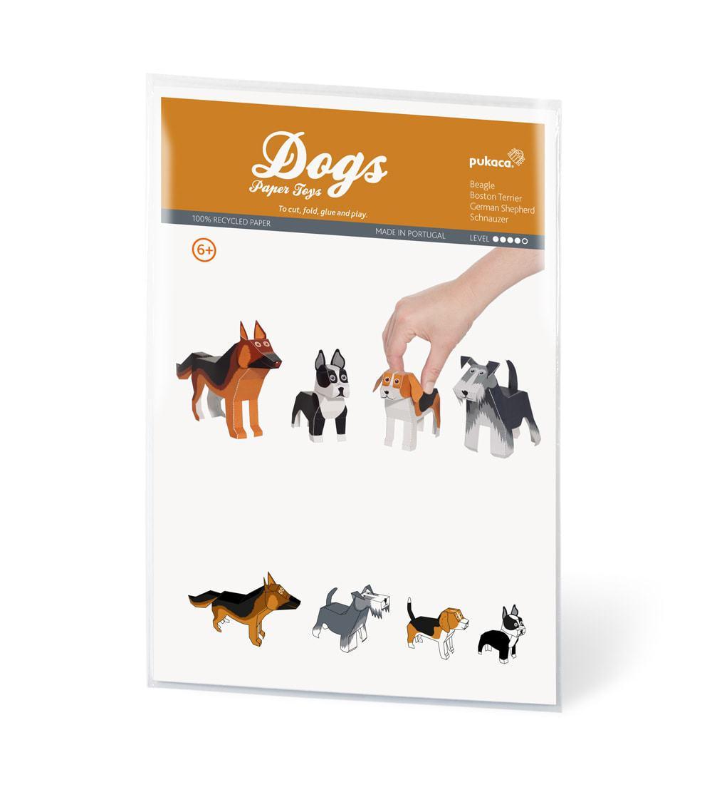 Bastelbogen Hunde