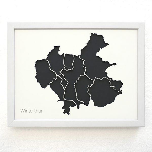 Stadtteile Winterthur