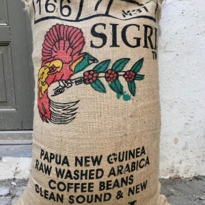 Rohkaffee Papua Neu Guinea Kaffeesack