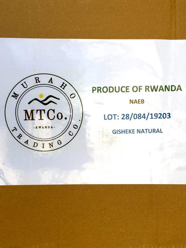 Ruanda Rohkaffee Microlot