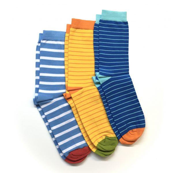 Socken Streifen 3er Set